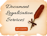 Document Legalisation Services
